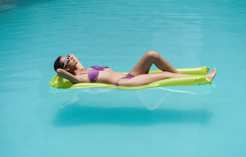 matelas bouée piscine